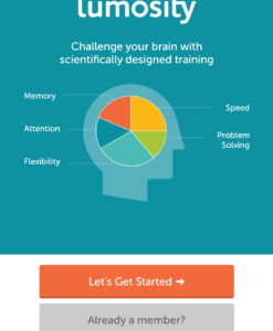 Brain Training App Lumosity, Lumosity Gehirntraining App