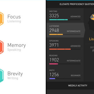 Elevate Brain Training App, ELEVATE Gehirntraining App