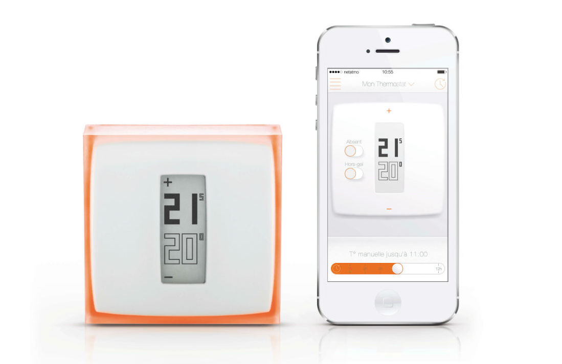 netatmo thermostat mit smartphone app smart home smartclave. Black Bedroom Furniture Sets. Home Design Ideas